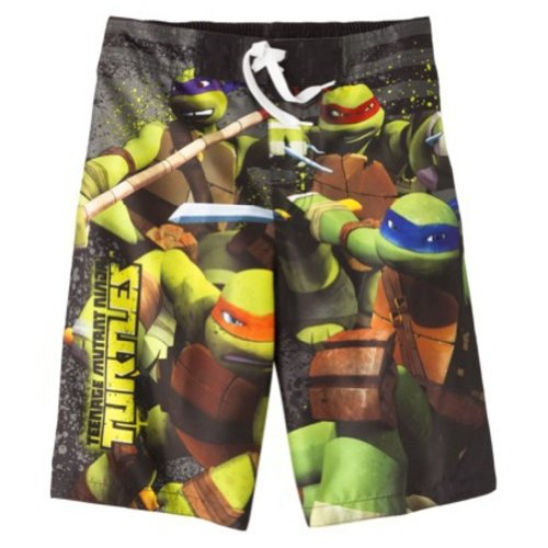 Teenage Mutant Ninja Turtles Swimsuit Swim Trunk Boy Size S 6