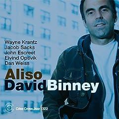 David Binney Aliso cover