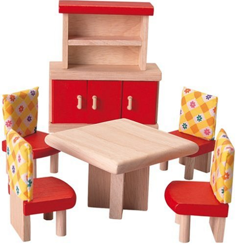 Plan Toys Doll House Dining Room  Neo Style