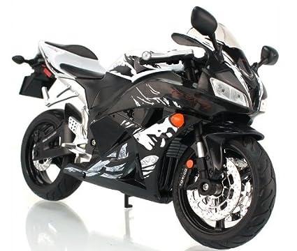 RASTAR honda 1:9 CBR 600RR F5 modele de moto en alliage jouets Vehicule Miniature Echelle 1/9 (noir)