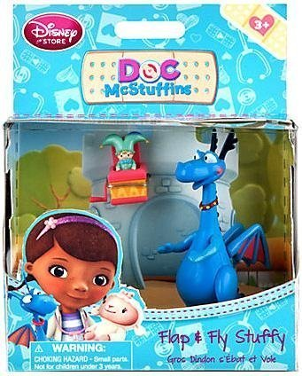 Disney Doc McStuffins Exclusive Action Figure Flap & Fly Stuffy - 1