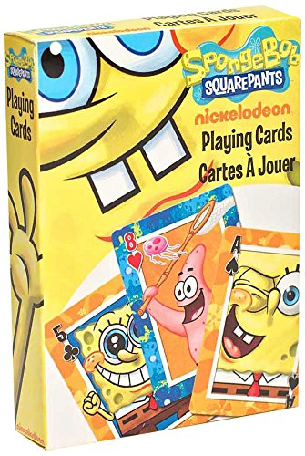 Nickelodeon Spongebob Squarepants Playing Cards - 1