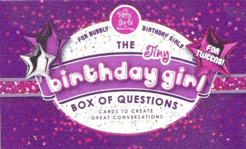 Tiny Birthday Girl Box of Questions Set #2 - 1