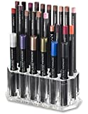 Acrylic Eye Liner / Lip Liner Organizer & Beauty Care Holder Provides 26 Space Storage   byAlegory Makeup Organizer