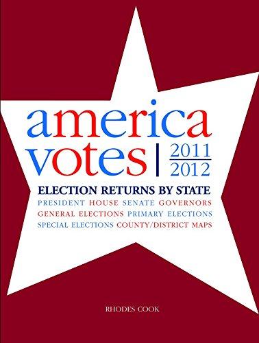 America Votes 30 (America Votes: A Handbook of Contemporary Election Statistics)