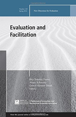 Evaluation and Facilitation, Ev 149 (J-B PE Single Issue (Program) Evaluation)