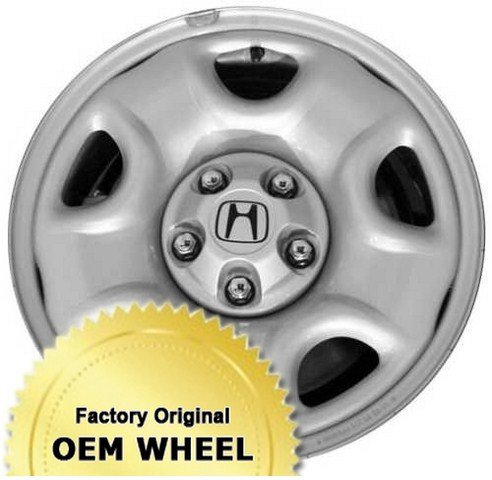 HONDA PILOT 16X6.5 Factory Oem Wheel Rim- STEEL-SILVER - Remanufactured