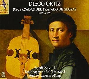 Diego ORTIZ: Recercadas del Tratado de Glosas, Rome 1553