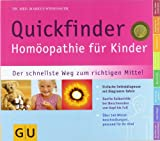 img - for Quickfinder Hom opathie f r Kinder book / textbook / text book