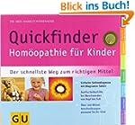 Quickfinder Hom�opathie f�r Kinder. D...