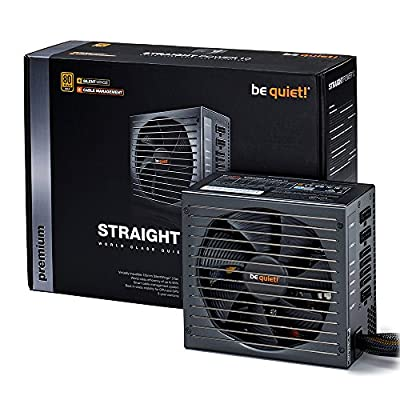 be quiet! 静音PC電源 80PLUS GOLD/セミプラグイン方式 700W STRAIGHT POWER 10 CM 700W 国内正規代理店品
