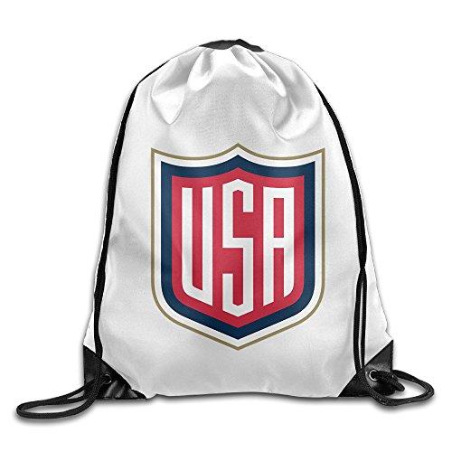 JOKEme Team USA 2016 World Cup Of Hockey Logo Drawstring Backpacks/Bags