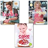 Rachel Allen Rachel Allen Bake, Cake and Easy Meals Cookbooks Collection 3 Books Set,