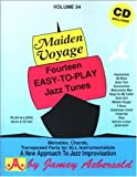 Vol. 54, Maiden Voyage: Fourteen Easy-To-Play Jazz Tunes (Book & CD Set)