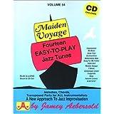 Vol. 54, Maiden Voyage: Fourteen Easy-To-Play Jazz Tunes (Book & CD Set) ~ Jamey Aebersold Play-A...