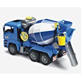 Amazon Com Bruder Toys Man Side Loading Garbage Truck