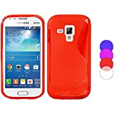 COVER PER Samsung Galaxy Trend Plus S7580 CUSTODIA FLESSIBILE TPU PELLICOLA GEL
