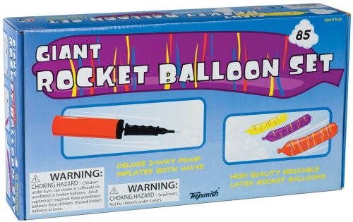 Toysmith Giant Rocket Balloon Set 2534