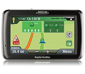 Magellan Roadmate 2045t-lm Portable Gps Navigator With Lifetime Maps And Traffic