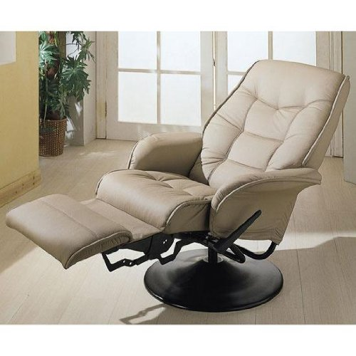 Two New Tan Rv Motorhome Swivel Recliner Captains Chairs
