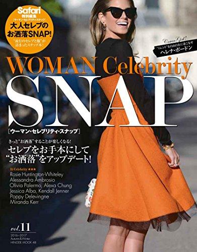 WOMAN Celebrity Snap 2016年Vol.11 大きい表紙画像