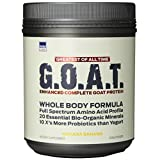 MMUSA Goat Protein Whole Body Formula Diet Supplement Powder, Havana Banana, 500 Gram