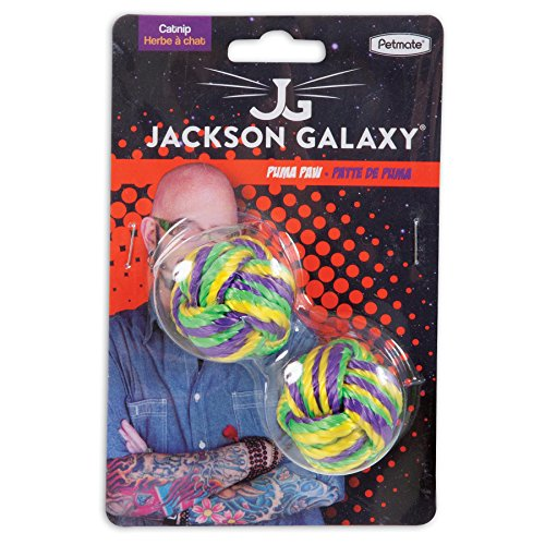 Petmate jackson galaxy puma paw with catnip ball import for Jackson galaxy cat products