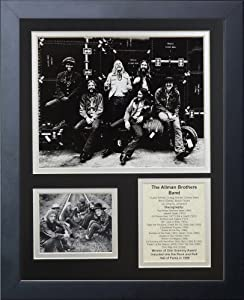 Legends Never Die The Allman Brothers Band Framed Photo Collage, 11 by 14-Inch