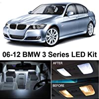 Bmw 3 Series E90 E92 M3 2006-2012 Xenon White Premium Led Interior Lights Package Kit 14 Pieces by LEDpartsNow