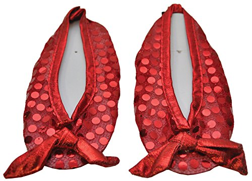 Child Ruby Red Slipper Shoe Covers