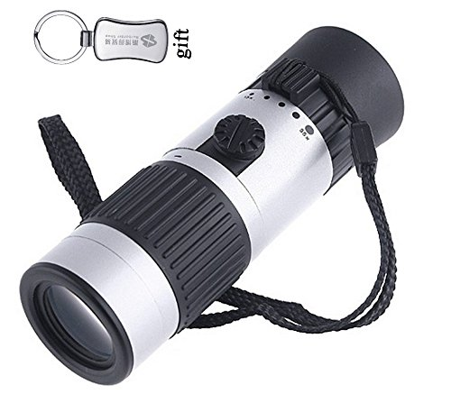 Mini Compact Pocket Sized 15-55X Mini Zoomable Monocular Telescope For Hunting Camping Outdoor Sports Adventure + A Keychain