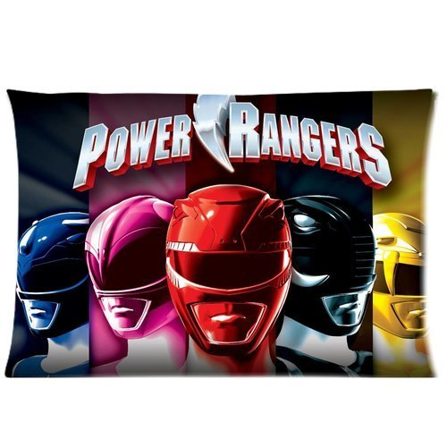 Custom Power Rangers Pattern 17 Pillowcase Cushion Cover Design Standard Size 20X30 Two Sides by MOGUI (Power Ranger Bedroom Decor compare prices)