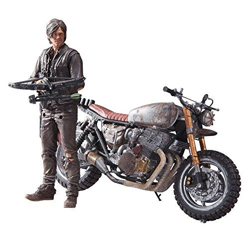 McFarlane Toys The Walking Dead TV Daryl Dixon with Custom Bike Deluxe Box Set