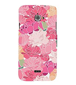 Floral Painting Cute Fashion 3D Hard Polycarbonate Designer Back Case Cover for InFocus M350