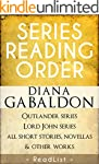 Diana Gabaldon Series Reading Order:...