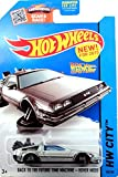 HOT WHEELS 2015 RELEASE BACK TO THE FUTURE TIME MACHINE HOVER MODE DIE-CAST