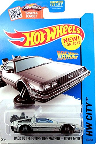 HOT WHEELS 2015 RELEASE BACK TO THE FUTURE TIME MACHINE HOVER MODE DIE-CAST (Back To The Future Hot Wheels compare prices)