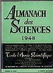 Almanach des sciences 1948 : Voyages...