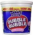 Dubble Bubble Tub, Original Flavor, 380-Count, 60.3 Oz(3.7 lb) from Double Bubble