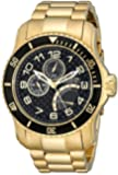 Invicta Men's 15341 Pro Diver Analog Display Japanese Quartz Gold Watch