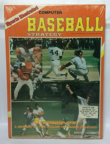 Computer Baseball Strategy by Avalon Hill for Atari 400/800