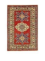 Eden Carpets Alfombra Kazak Super Rojo 87 x 60 cm