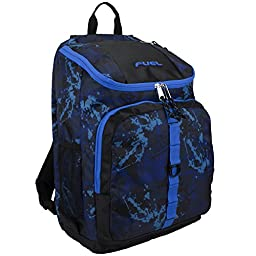 Fuel Top Loader Backpack, Black/Blue