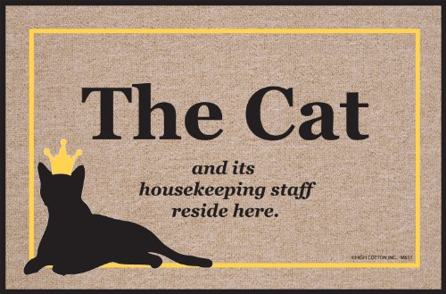 Animal Doormat - Cat Doormat