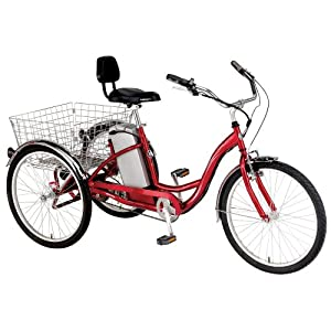 Currie Technologies iZIP Tricruiser Electric Tricycle (24-Inch Wheels)