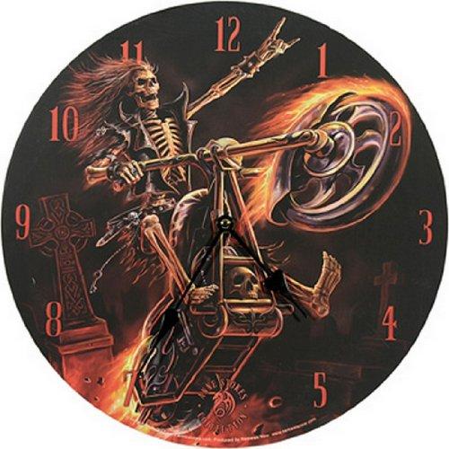 """Orologio da parete """"Hell Rider by Anne Stokes 33cm"""