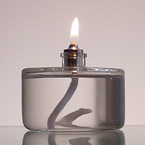 Firefly 3 Ounce Refillable Glass Liquid Candle Votive