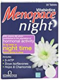 Vitabiotics Menopace Night Tablets 30 Capsules