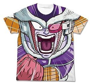 ドラゴンボール改 フリーザ フルグラフィックTシャツ ホワイト サイズ:XL