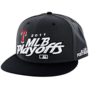 Texas Rangers 2011 Locker Room Champs Plastic Snapback Adjustable Plastic Snap Back... by Twins